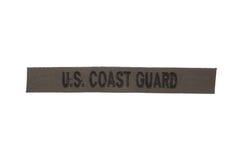 Us coast guard uniform badge Royalty Free Stock Photography