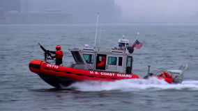 US Coast Guard USA cityscapes stock video