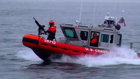 US Coast Guard USA cityscapes stock video footage