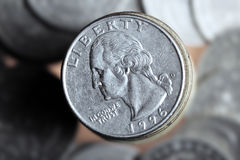 US coin Royalty Free Stock Photo
