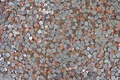 US Coin Background Stock Photography