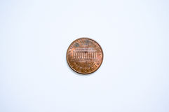 US coin 1 cent Royalty Free Stock Photos
