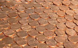 US Coins Royalty Free Stock Photography