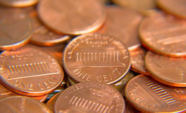 US Coins Royalty Free Stock Images