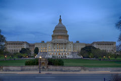 US Congress at Dusk Stock Image