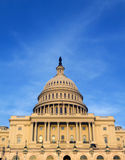 US Congress. The United States Congress at sunset on the mall in Washington D.C Stock Photography
