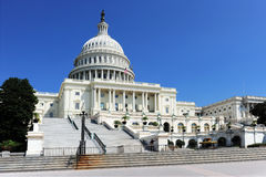 US Congressi Building Royalty Free Stock Photo