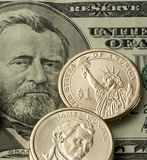 US currency Royalty Free Stock Photography