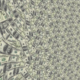 US Currency Background. High Resolution Illustration US Currency Background Royalty Free Stock Image