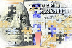 US Currency One Hundred Dollar Bill. American currency one hundred dollar bill - Finance and banking concept stock illustration
