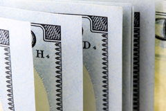US Currency One Hundred Dollar Bills Stock Photography