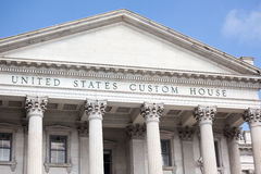 US Custom House in Charleston, South Carolina Stock Photo
