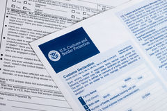 US Customs and Border Protection Royalty Free Stock Image