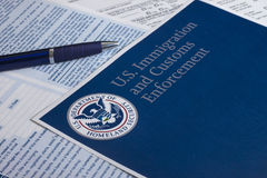 US Customs and Border Protection Stock Image