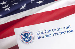 US Customs and Border Protection Royalty Free Stock Photo