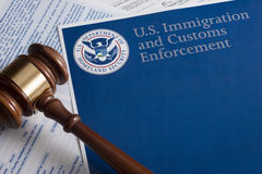 US Customs and Border Protection Royalty Free Stock Photos