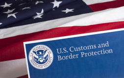 US Customs and Border Protection Royalty Free Stock Photography