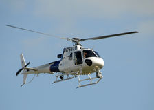 US Customs and Border protection helicopter royalty free stock photography