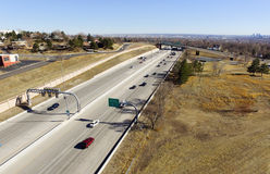 US 36 in Denver, Colorado Stock Photography