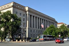 US Department Of  Commerce Stock Image