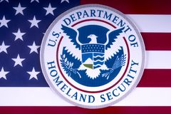 US Department of Homeland Security Stock Images