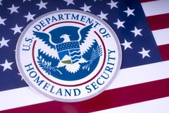 US Department of Homeland Security stock photography