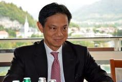 US Deputy Assistant Secretary of the Bureau of European and Eurasian Affairs, Hoyt Brian Yee Stock Image