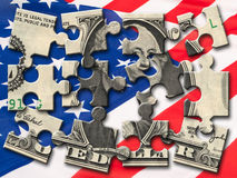 US-Dollar Stockfotografie