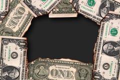 US dollar Arkivfoton