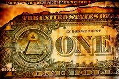 US dollar Royaltyfri Bild