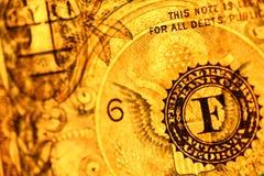 US dollar Royaltyfri Fotografi
