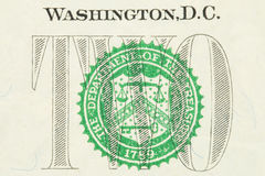 US dollar Royaltyfria Bilder