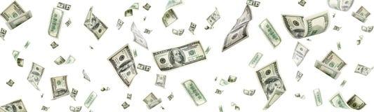 Free Us Dollar. American Money, Falling Cash. Flying Hundred Dollars Stock Photo - 156867670