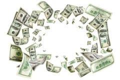 Free Us Dollar. American Money, Falling Cash. Flying Hundred Dollars Royalty Free Stock Images - 159061229