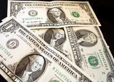 US dollar bank notes Stock Photography