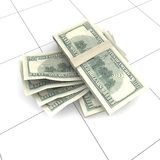 Us dollar banknote Stock Image