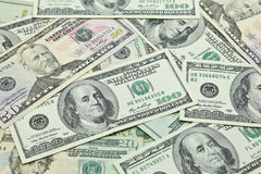 US-Dollar Banknoten Lizenzfreie Stockbilder