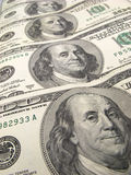 US dollar banknotes Stock Image