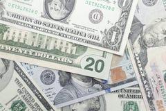 US Dollar banknotes Royalty Free Stock Photos