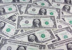 US-Dollar Bargeldhintergrund Lizenzfreies Stockfoto