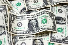 US dollar bills Stock Image