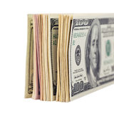 US dollar bills Stock Images
