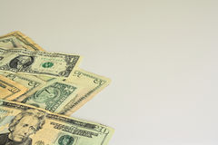 US dollar bills Royalty Free Stock Photography
