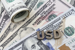 US Dollar Bills Stock Photos