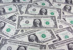 US dollar cash background Royalty Free Stock Photo
