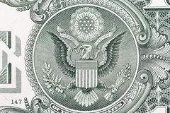 US Dollar Detail Stock Photography