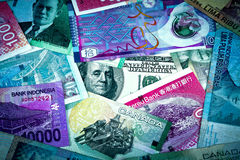 US Dollar in Global Economy Stock Photos
