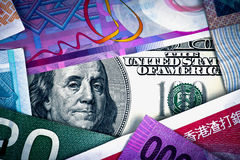 US Dollar in Global Economy Stock Photography