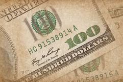 US dollar in grunge style Stock Image