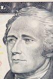 US-Dollar Makroabschluß oben Lizenzfreies Stockbild